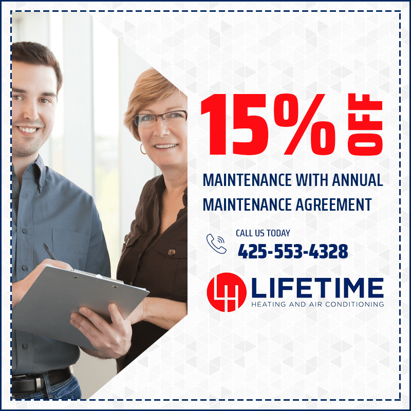15% off Repairs with Annual Maintenance Agreement