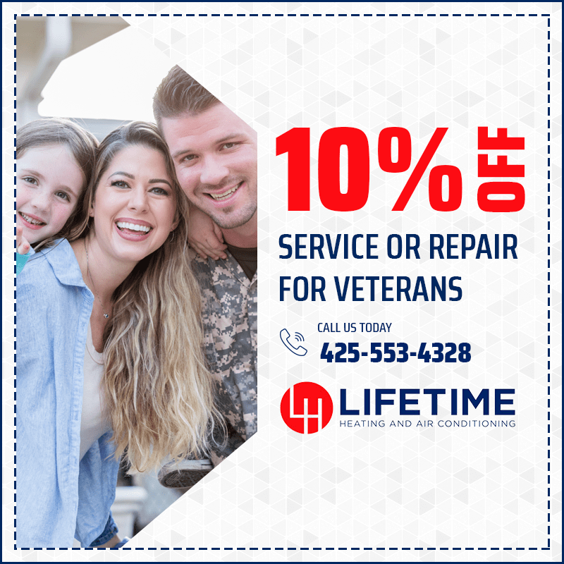 10% off Service or Repair for Veterans