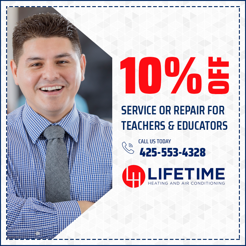 10% off Service or Repair for Teachers and Educators