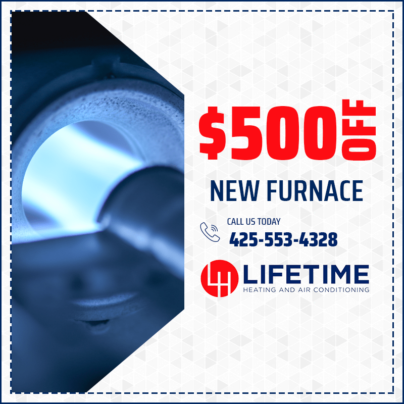 $500 Off New Furnace