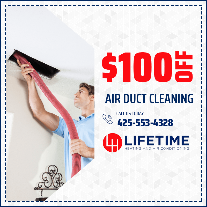 $100 off Air Duct Cleaning