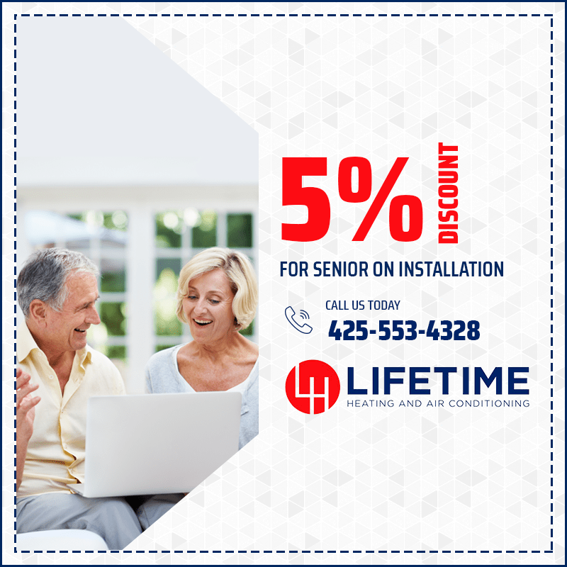 5% Discount for senior discount