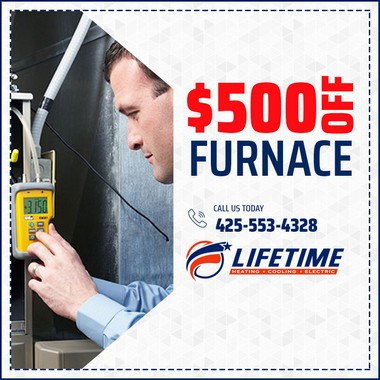 $500 of New Furnace