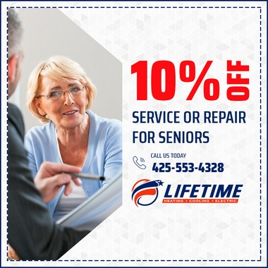 10% off Service or Repair for Seniors