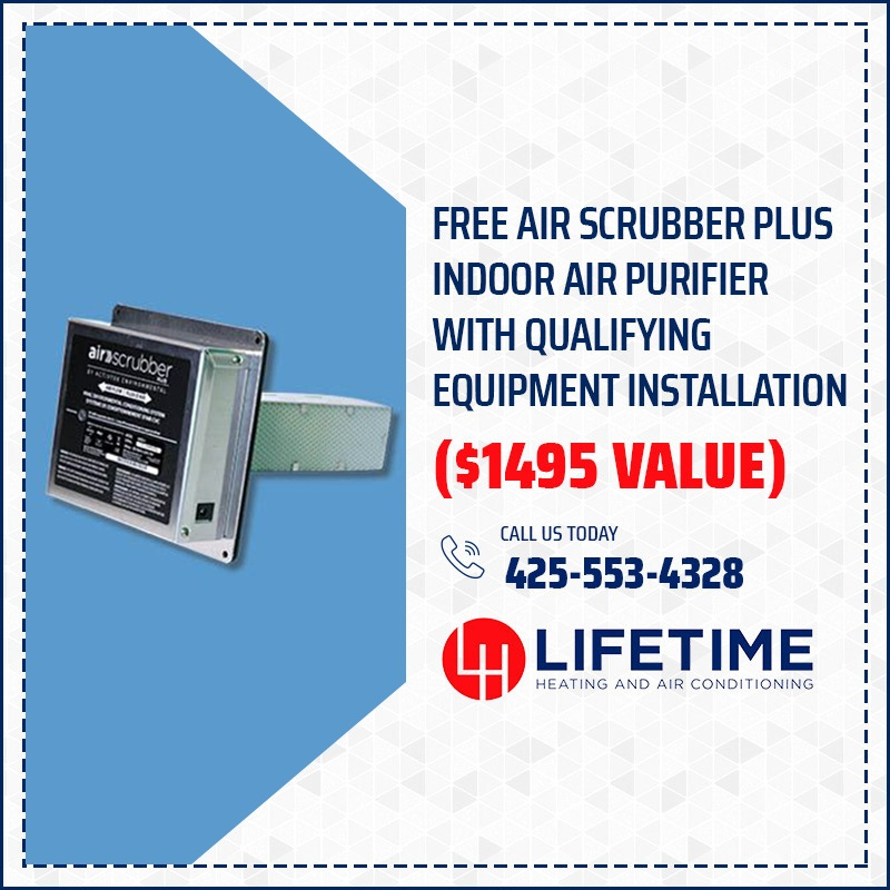 Free Air Scrubber Plus Indoor Air Purifier